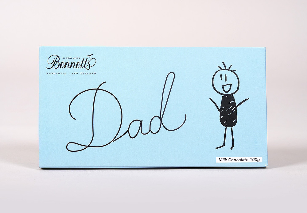 Bennetts Chocolate Message Bar