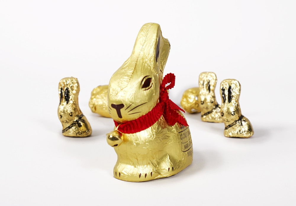 2019 Easter Lindt Chocolate Bunny