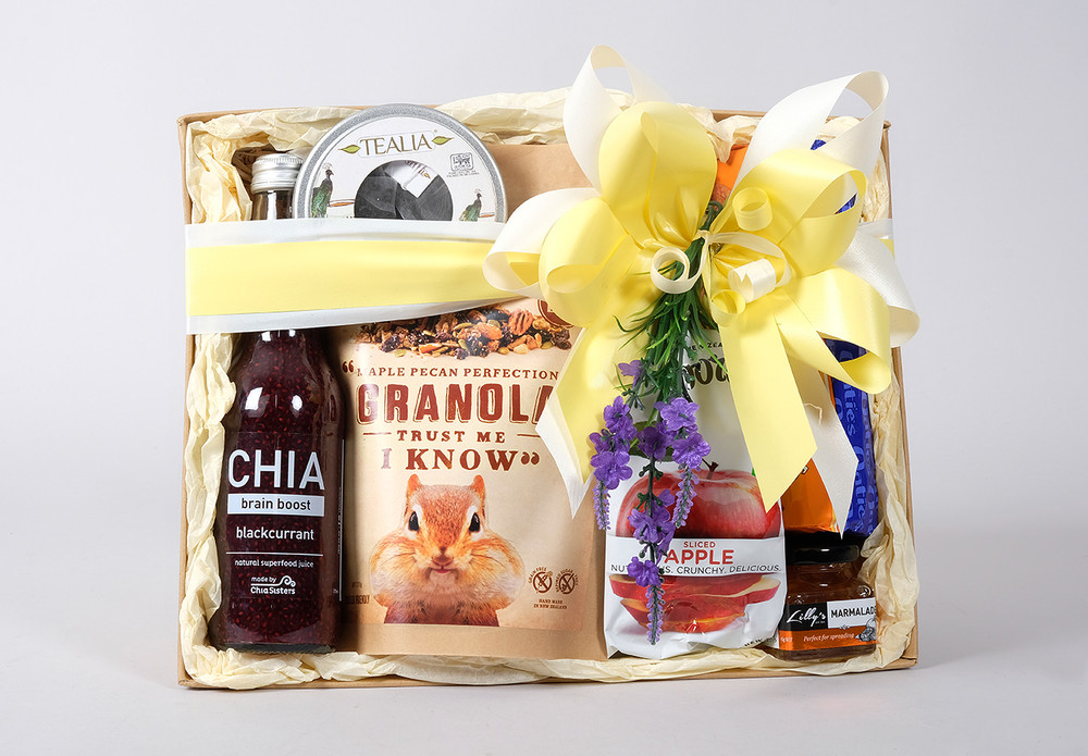 A Fun Vibrant And Healthy Mothers Day Gift Basket