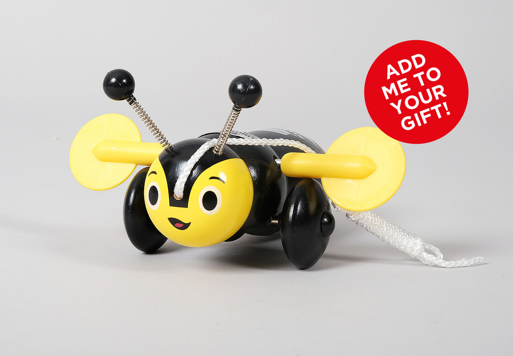 All Black Buzzy Bee
