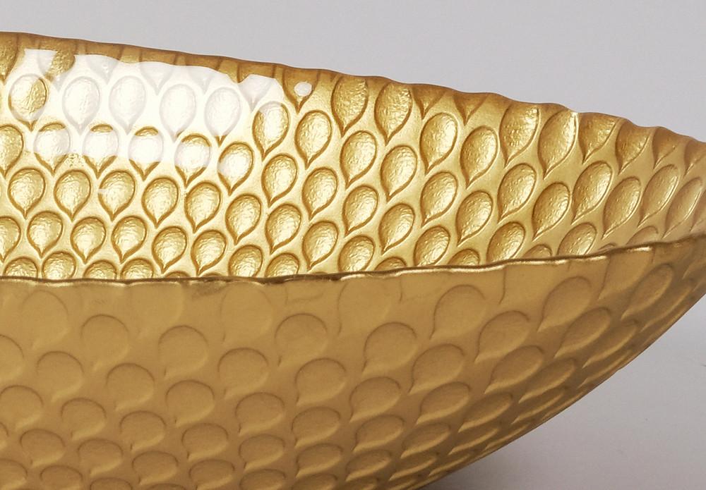 Gold Bowl, Gift Basket