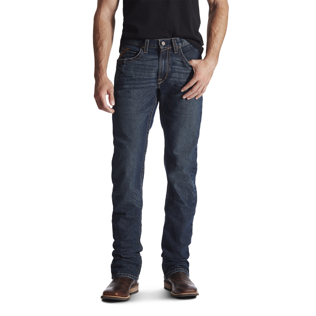ef3dca1efa09 REBAR M5 SLIM STRAIGHT IRONSIDE JEANS - The Brown Duck