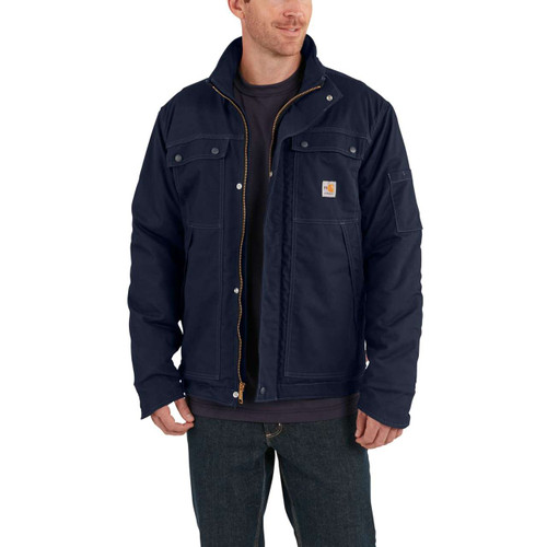 Carhartt FR Full Swing quick Duck Dark Navy Coat 102182-410