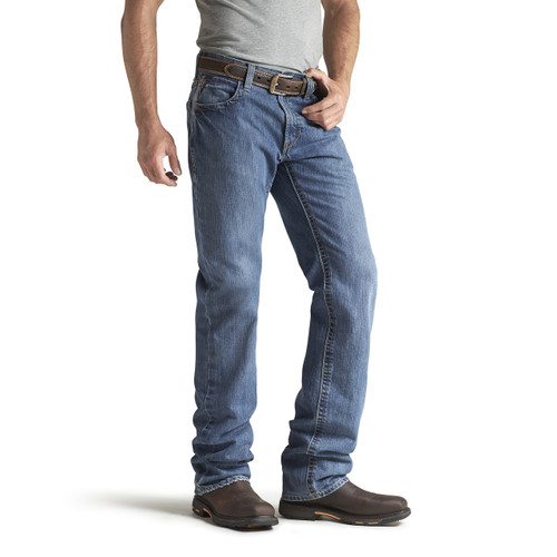 Ariat FR jeans for athletic thighs - Flint - 10014449