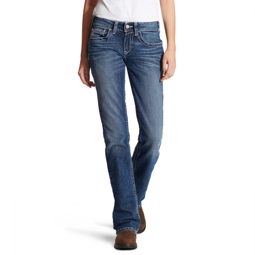 Women's FR Ariat Jeans with Entwined Pocket - 10019544 - Oceanside
