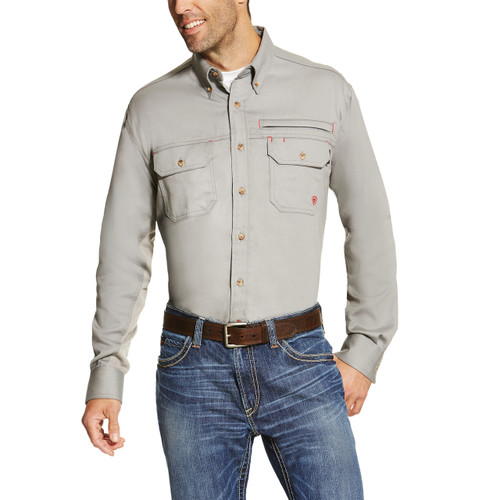 Ariat FR Vented Gray Shirt