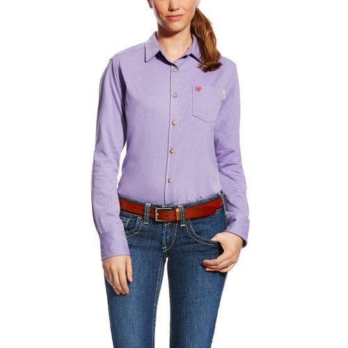 Ariat FR 10022300 Women's Taylor Knit Work Shirt
