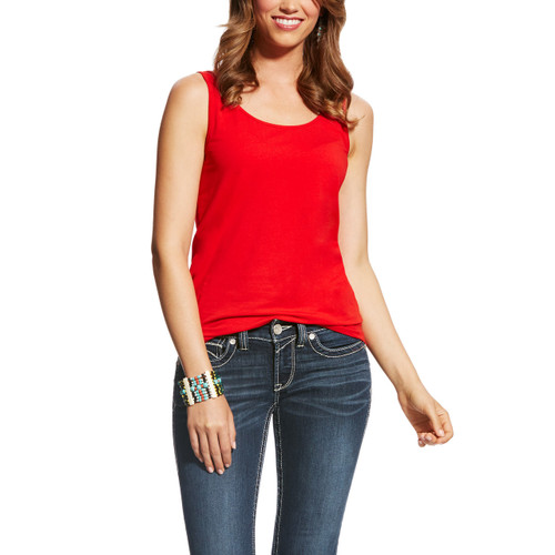 Ariat 10021975-D Women's Tank - Red
