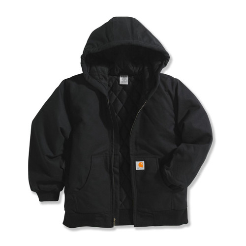 CARHARTT KIDS BLACK DUCK JACKET CP8417