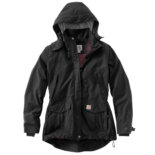 Black Women's Carhartt Shoreline Jacket 102382 - 001