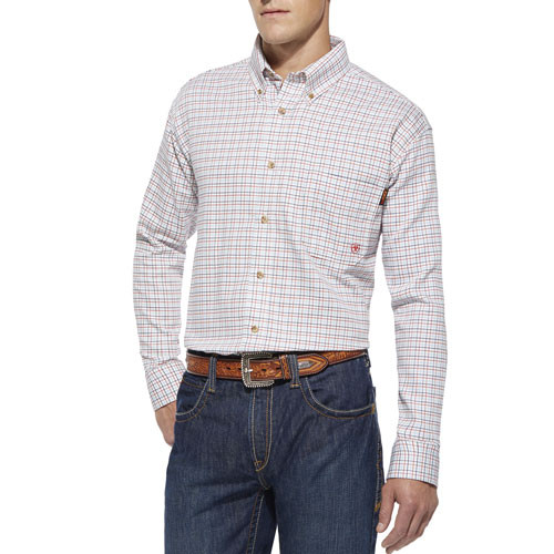 FR Plaid Gauge Work Shirt |10014857