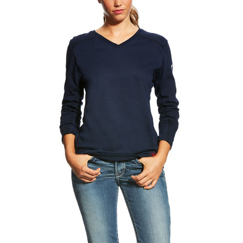 Ariat FR Women's AC Crew Top  (10022698)