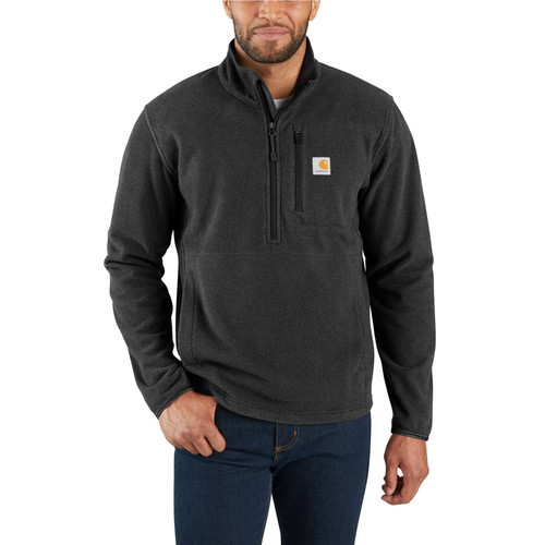 Carhartt Dalton Half-Zip Fleece Jacket  103831-013 Black Heather