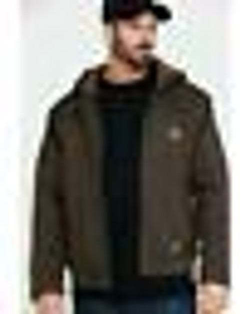 Ariat Men's Rebar Dura Canvas Zip Up Work Jacket (10027842)