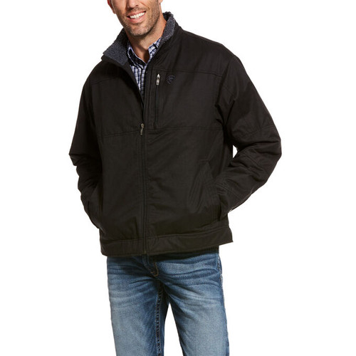 Ariat 10028395-D Men's Grizzly Canvas Jacket