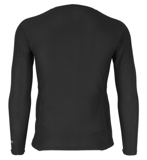 Carhartt Base Layer FORCE Lightweight Crew in black - back view MBL101-BLK