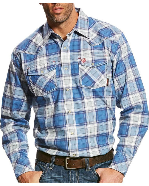 Ariat Mens FR permian Retro Work Shirt 10023968