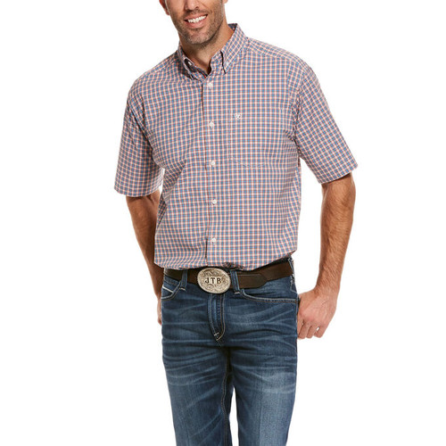 10028194 - Ariat men's short sleeve classic shirt
