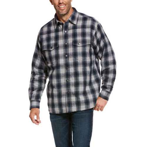 Ariat 10027990 Men's Fenrir Flannel Snap Shirt Jacket