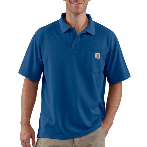 Carhartt K570 Men's Contractor's Work Pocket Polo
