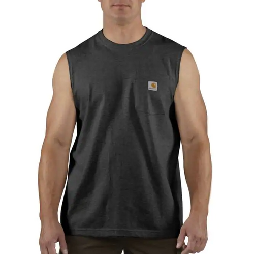 Carhartt 100374 Men's Pocket Sleeveless T-Shirt