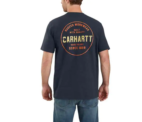 Carhartt 104178 Men's Relaxed Fit SS Graphic T-Shirt