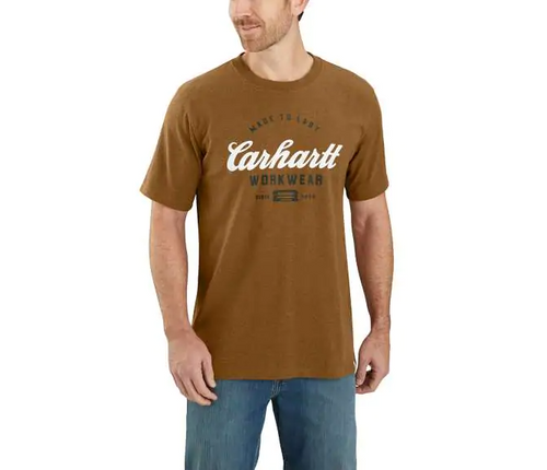 Carhartt 104181 Men's Relaxed Fit SS Graphic T-Shirt