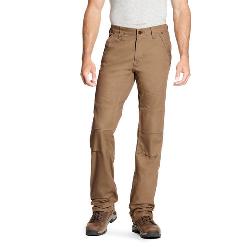 Ariat 10023475 Men's Rebar M4 Low Rise DuraStretch Canvas Utility Boot Cut Pant
