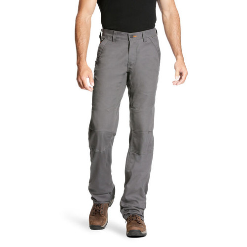 Ariat 10023476 Men's M4 Rebar DuraStretch Canvas Utility Boot Cut Pant