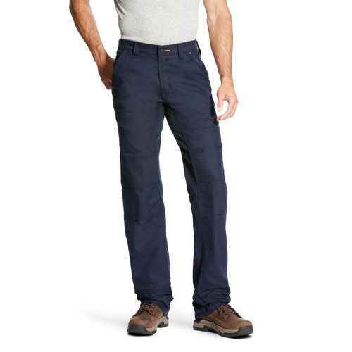 Ariat 10023479 Men's Rebar DuraStretch Canvas Utility Boot Cut Pant