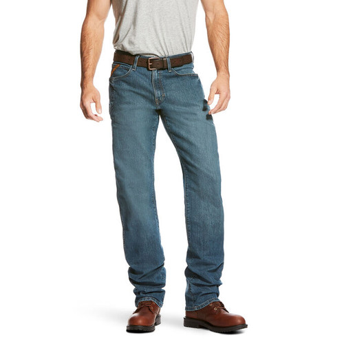 Ariat 10020820 Men's Rebar M3 Loose DuraStretch Stackable Straight Leg Jean