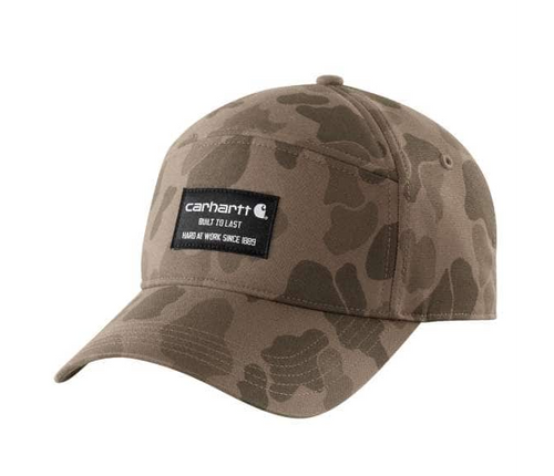 Carhartt 104189 Rugged Flex Canvas Five Panel Graphic Hat