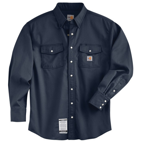 Carhartt Navy FR Snap shirt 101572-410