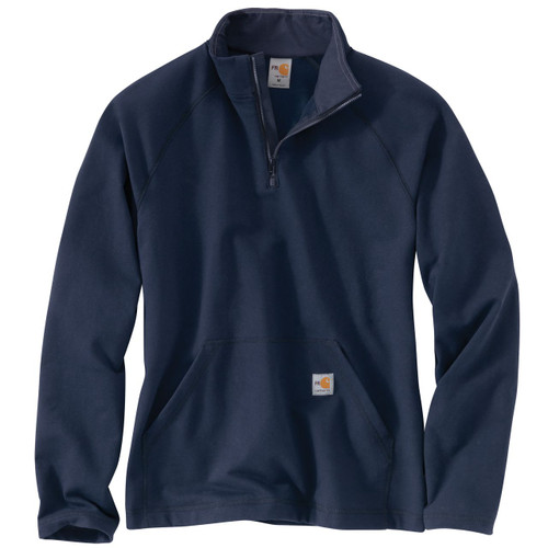 Carhartt Navy FR FORCE Quarter Zip Fleece 101576-410