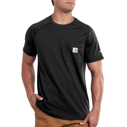 Short Sleeve Cotton Force Carhartt T-shirt - 100410-001