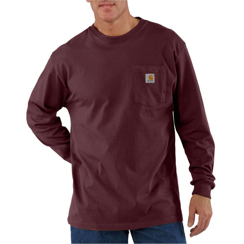 Front - K126 - Port PRT Carhartt Pocket T-shirt