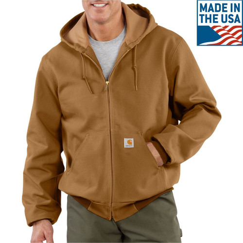 Carhartt Brown Thermal Lined Active Jac - J131-BRN