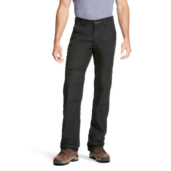 Ariat 10023478 Men's Rebar DuraStretch M$ Canvas Utility Boot Cut Pant