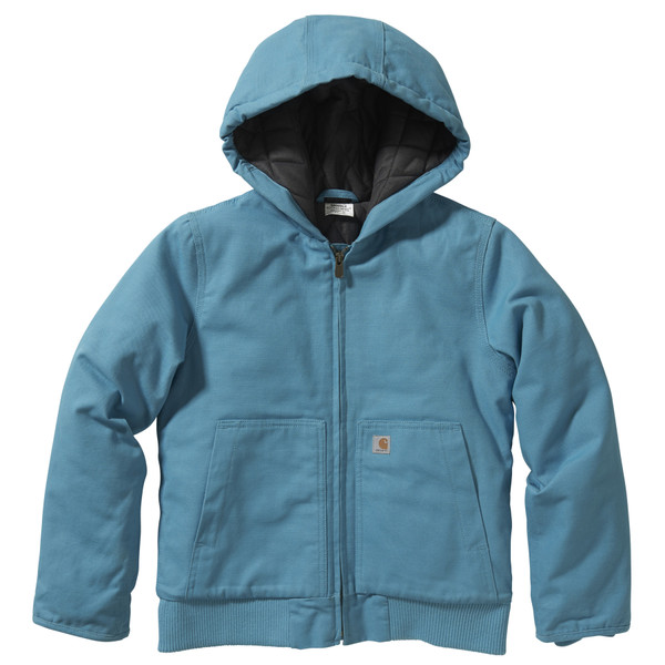 Kids Carhartt Active jac in Blue Moon CP9564