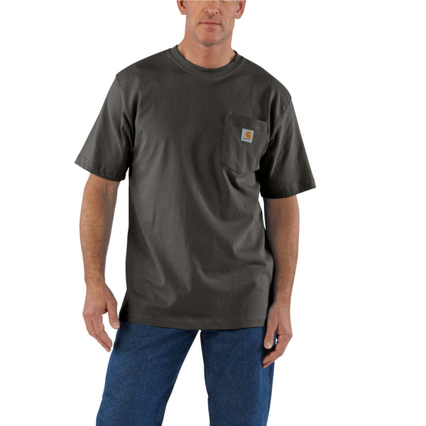 Carhartt Short Sleeve Pocket T-shirt K87306 Peat