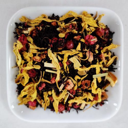 Las Vegas te - Svart te sprängfyllt med blommor och dofter