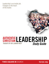 Authentic Christian Leadership Study Guide