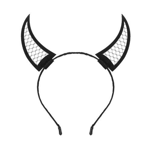 Pinup Skull Halloween Horn headband Burlesque Devil horn Devil horns Halloween Skull headdress Red horn EDM