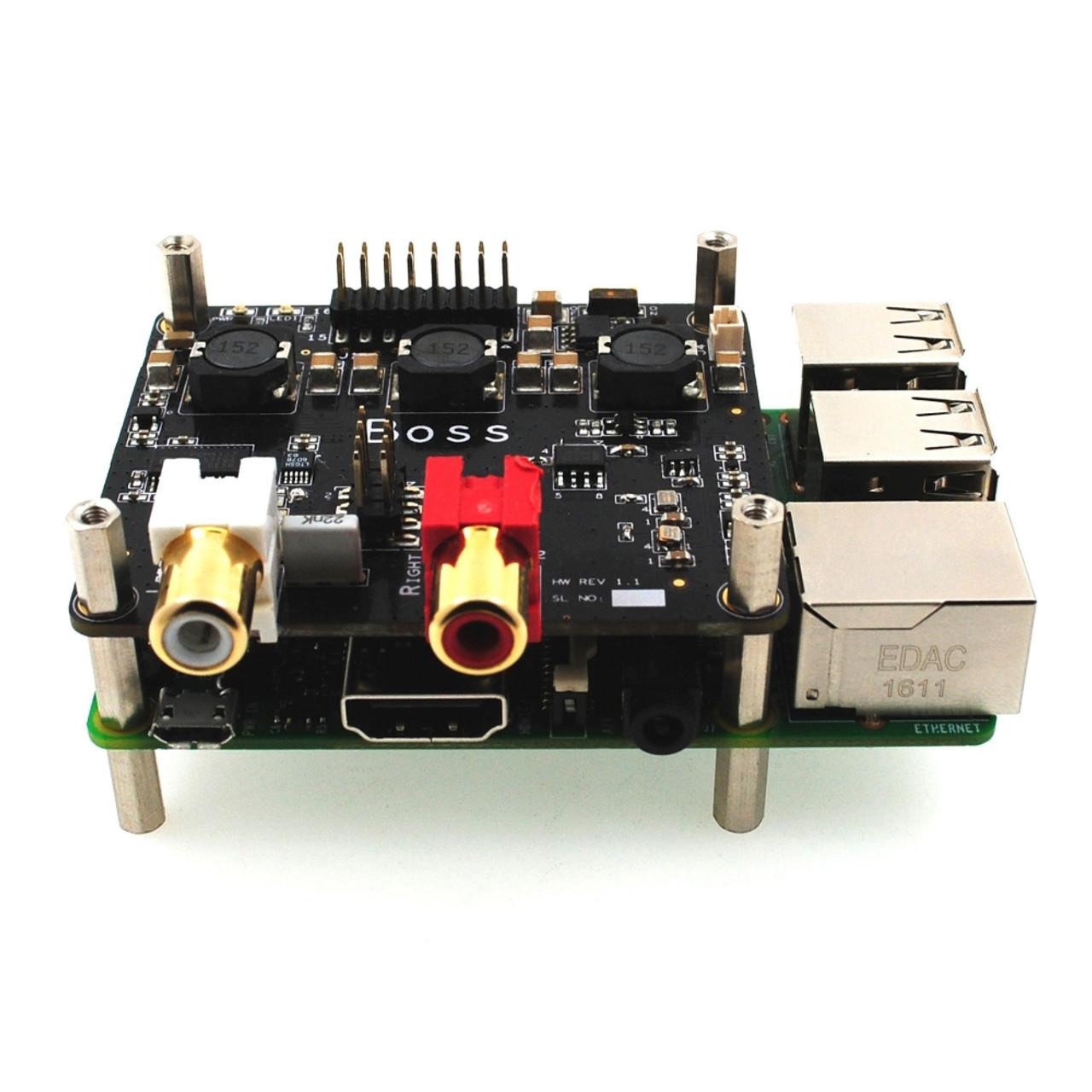 Raspberry Pi 3 I2s Audio Input