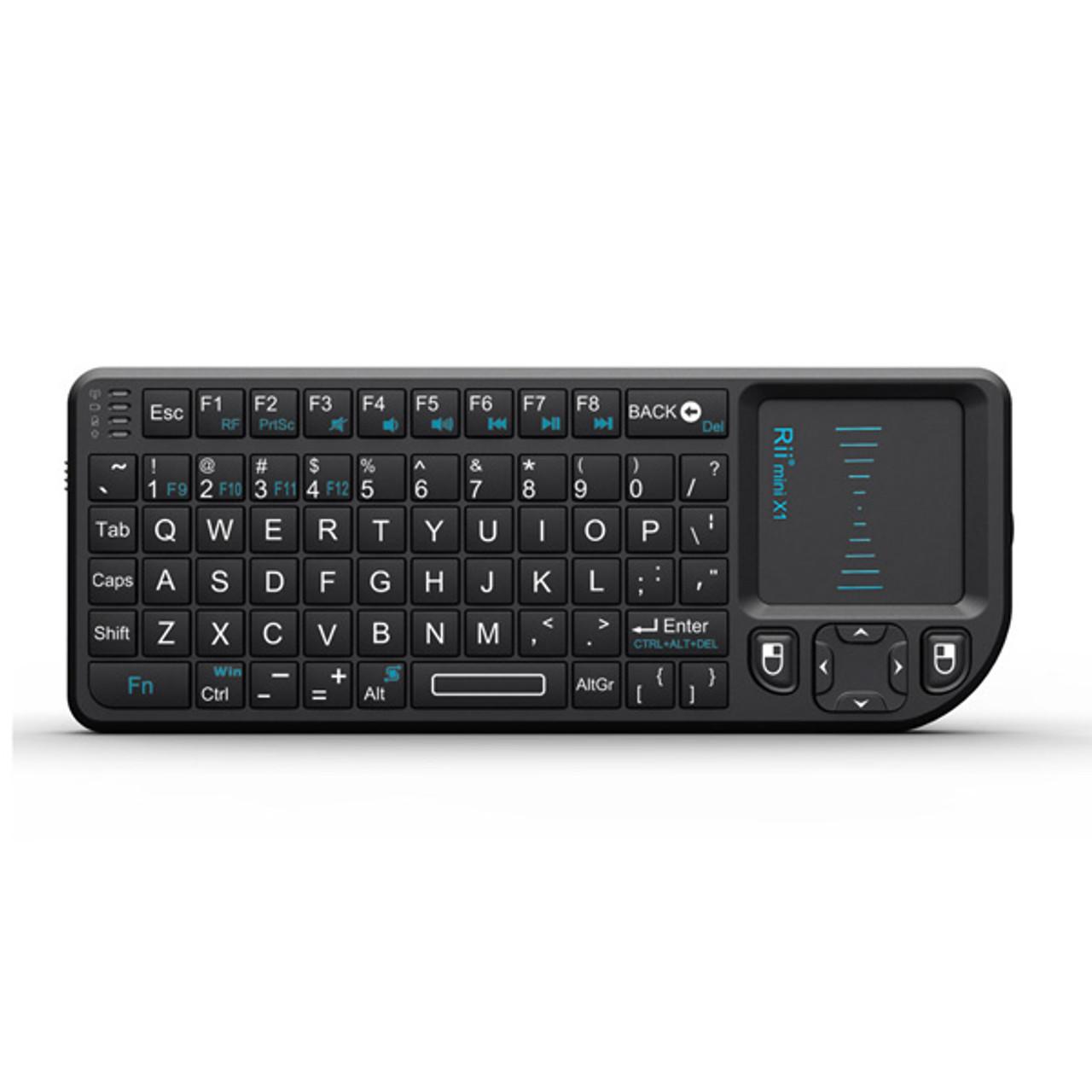 Riitek Ultra Mini Wireless Keyboard with Mouse Pad – No Laser Pointer