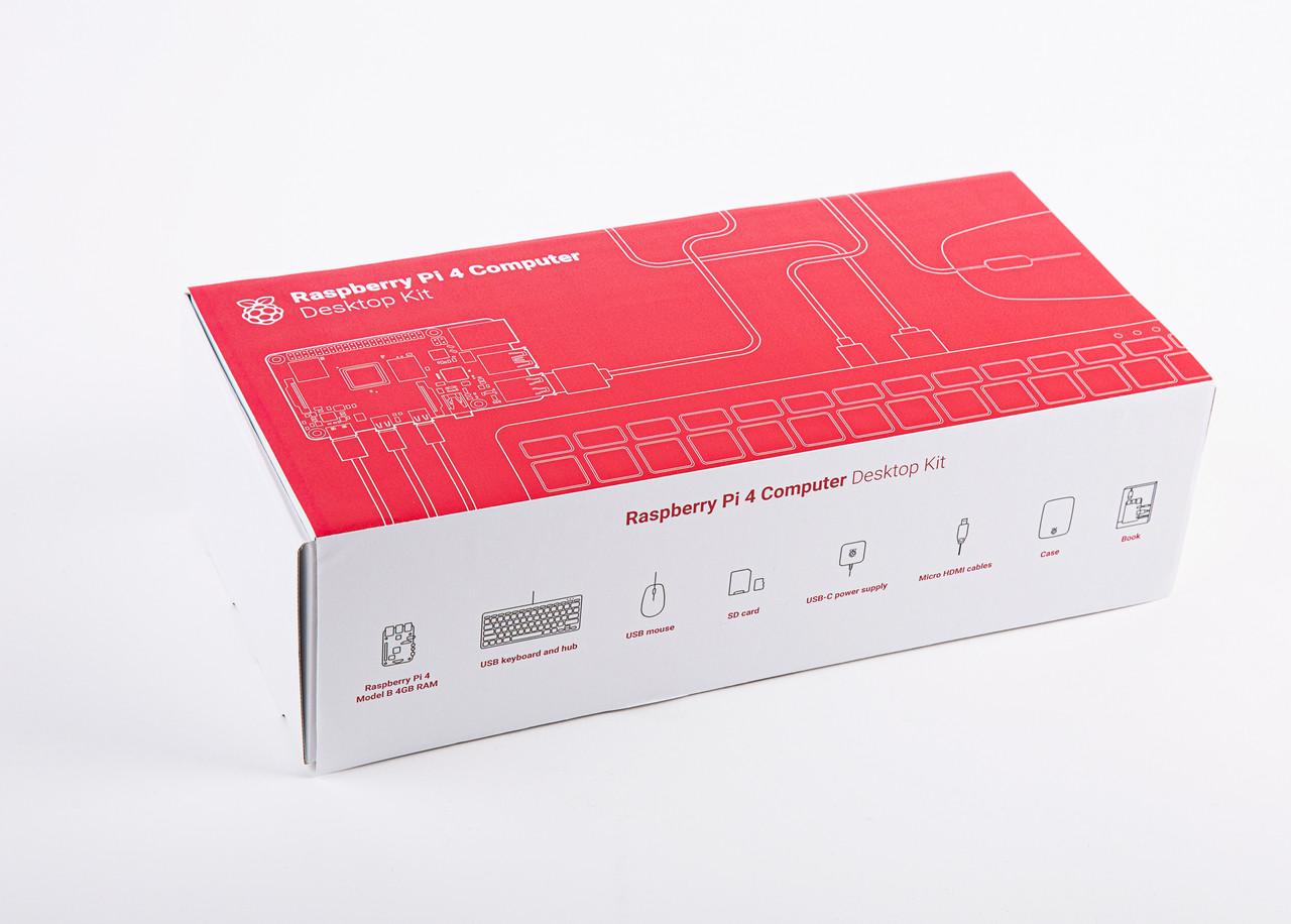 Raspberry Pi 4 Desktop Kit US