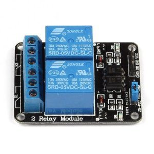2-Channel Relay Module for Arduino &amp