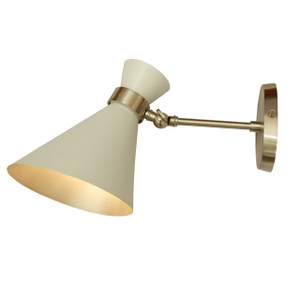 GC-010 PEGGY WALL LAMP Chrome