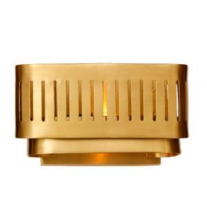 GA-002 TARYA WALL LAMP SMALL Gold - Full Brass