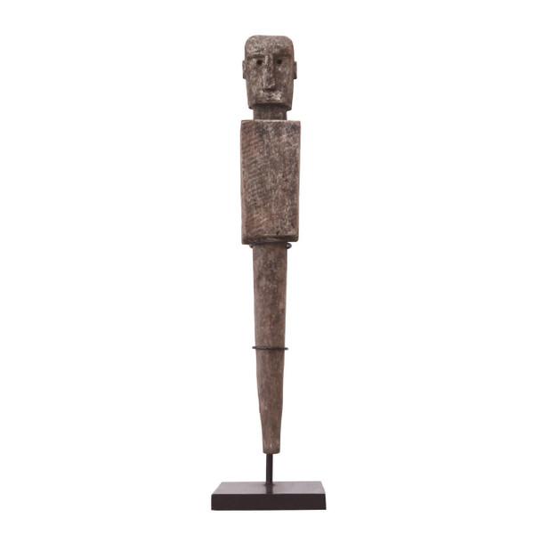 3-H3 Wooden Figurine - Pair 3 - Figurine one